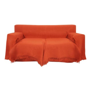 1984 Gianfranco Ferre With Paola Nava for B&B Italia Red Wool Sofa