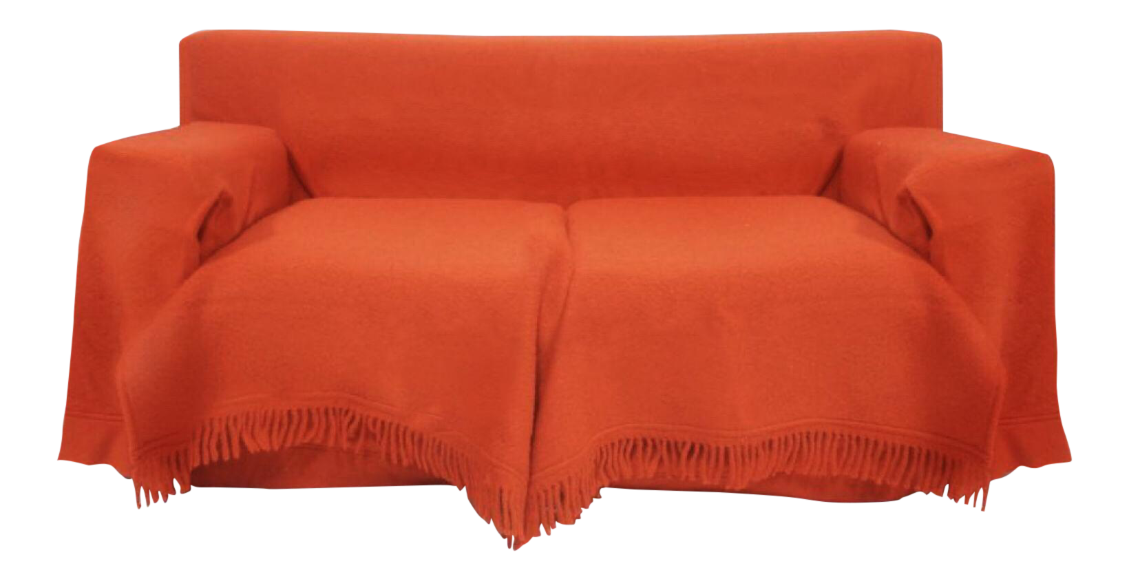 1984 Gianfranco Ferre With Paola Nava For Bu0026B Italia Red Wool Sofa