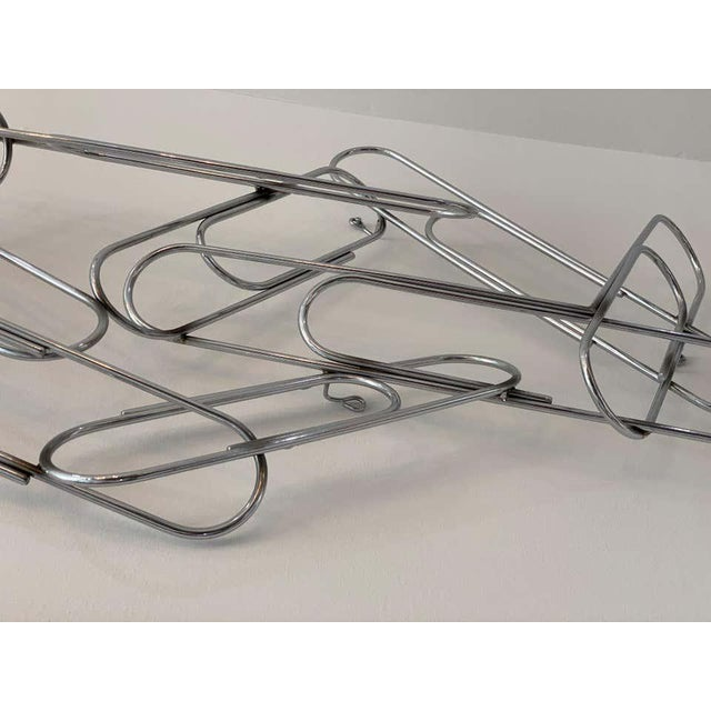 1970s Wall Sculpture of Paper Clips by Curtis Jere For Sale - Image 5 of 11