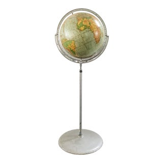 1940s Floor Globe by Rand McNally For Sale