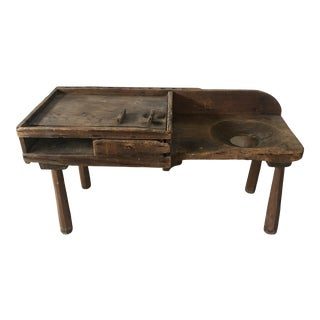Late 19th Century Antique Cobbler's Bench For Sale