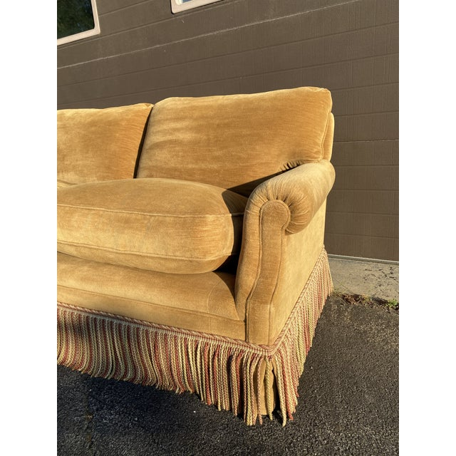 2010s George Smith Laidback Arm Sofa For Sale - Image 5 of 8