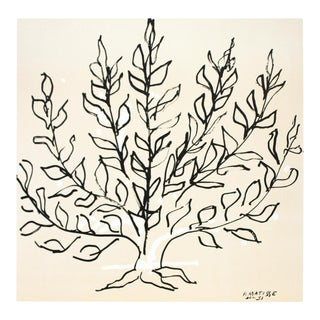 Henri Matisse, Le Buisson Ii, Lithograph For Sale