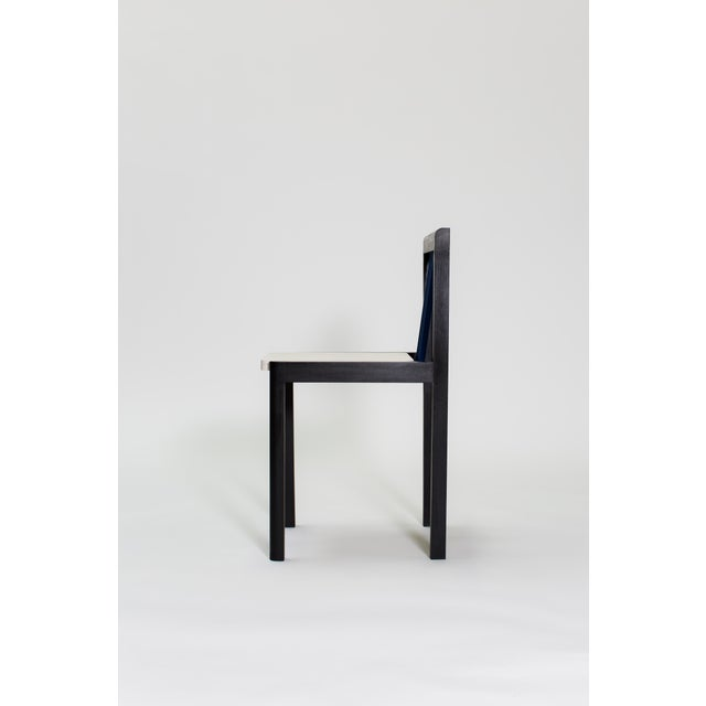 Memphis Steven Bukowski Contemporary Piano Chair in Lacquered Ash For Sale - Image 3 of 8