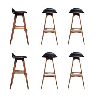 Set of Six Boyd Stools For Sale