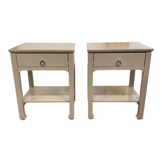 Bungalow 5 Harlow Side Tables - a Pair For Sale