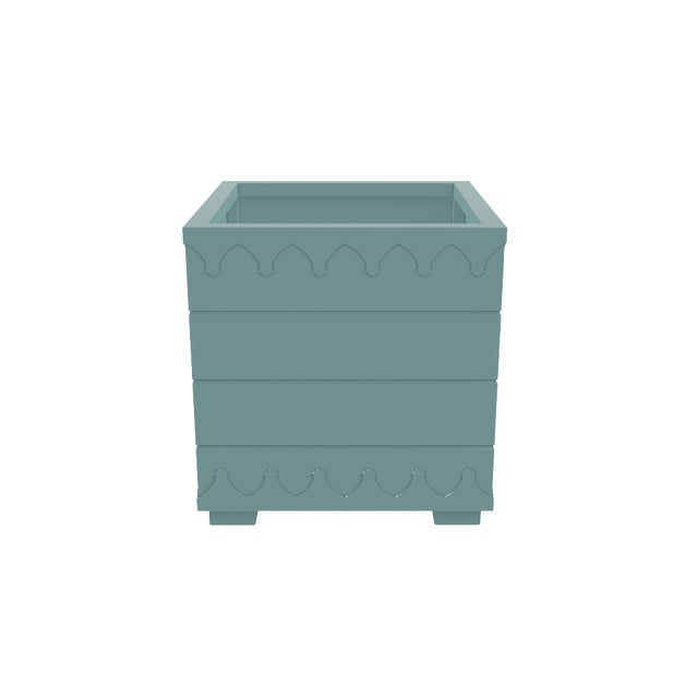 Not Yet Made - Made To Order Oomph Ocean Drive Outdoor Planter Large, Green For Sale - Image 5 of 6