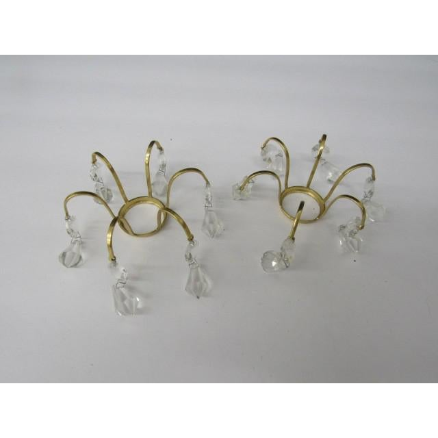 Brass & Glass Boboche - A Pair For Sale - Image 4 of 4