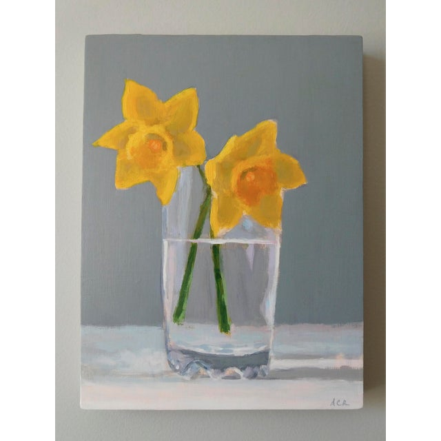 Contemporary Daffodils by Anne Carrozza Remick For Sale - Image 3 of 5