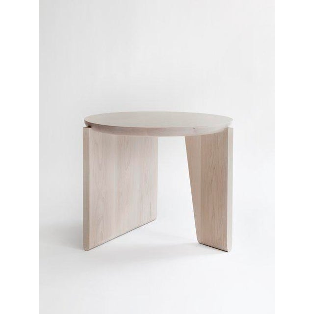 Walnut Egg Collective XL Wu Side Table For Sale - Image 7 of 7