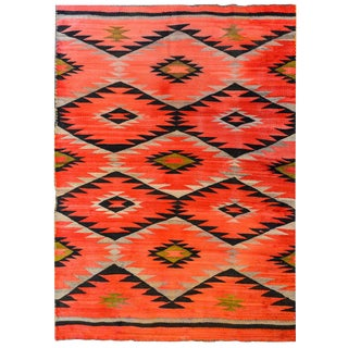 Wonderful Early 20th Century Navajo Rug For Sale