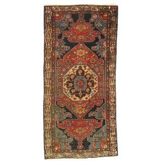 Late 19th Century Antique Hamadan Rug - 3′ × 6′5″ For Sale