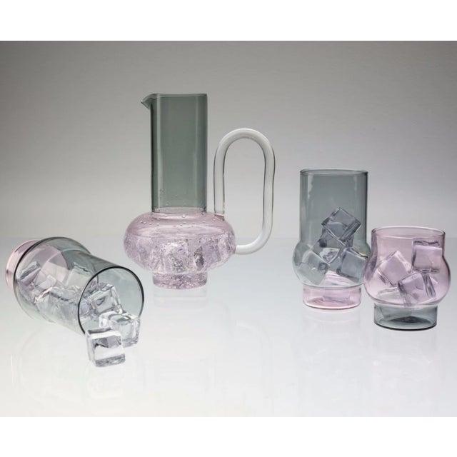 Glass Tom Dixon Bump Jug For Sale - Image 7 of 9