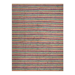 1940s American Braided Rug For Sale