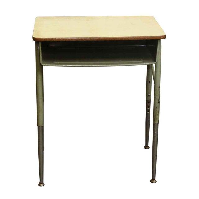 Mid-Century High School Desk - Image 4 of 4