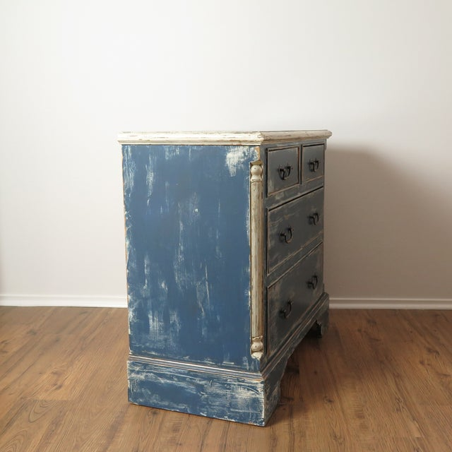 Antique Painted Chest of Drawers - Image 6 of 10