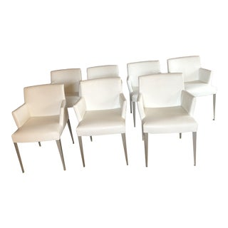 B&B Italy Melandra Chairs - Set of 7 For Sale