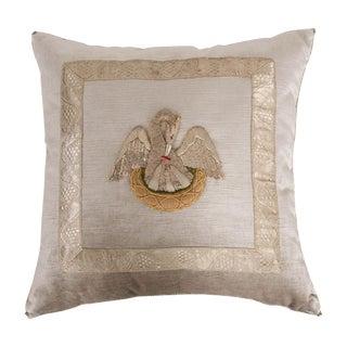 Antique Textile Pillow by B.Viz Design Antique Textile Pillow by b.viz Design