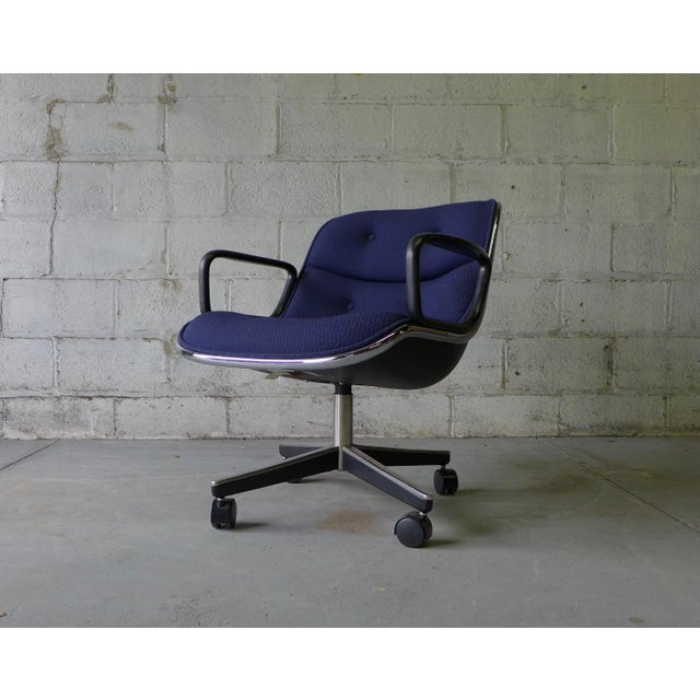 Mid Century Modern Pollock Office Chair by Knoll - Image 8 of 8