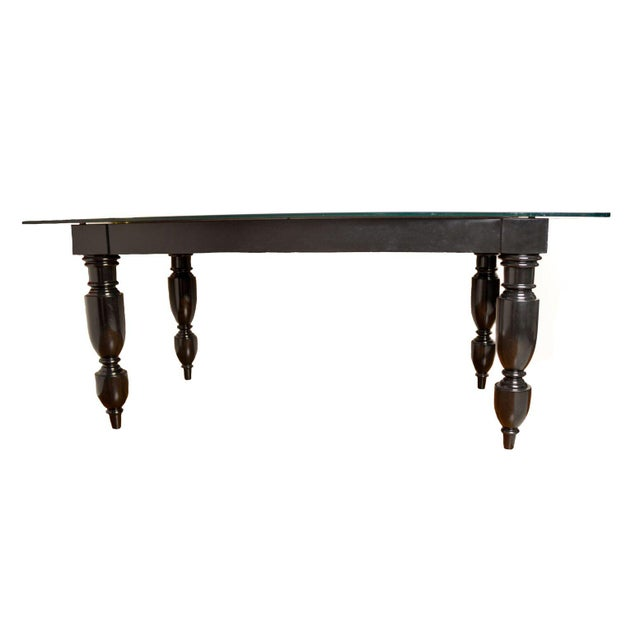 Elisabeth Weinstock Black Table Desk - Image 2 of 6
