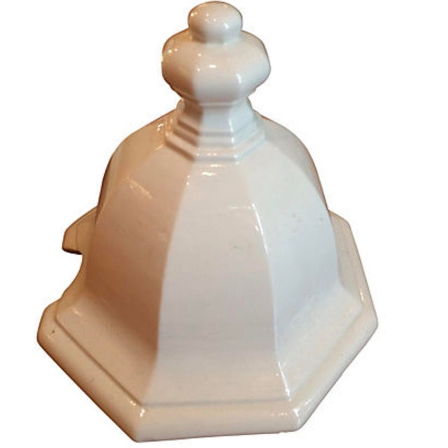 Italian Italian White Ironstone Tureen Set For Sale - Image 3 of 5
