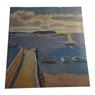 1982 Fairfield Porter Museum of Fine Arts Book For Sale
