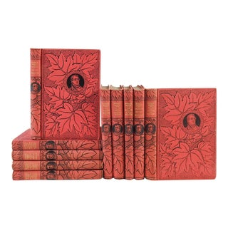 Works of Washington Irving - Set of 10 For Sale
