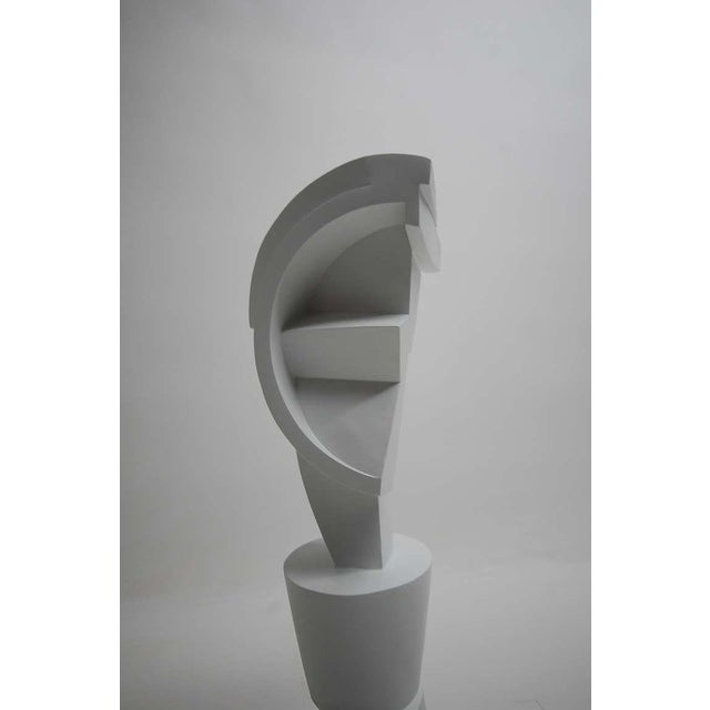 White Rare Prototype Peter Ambrose Sculpture Done for Judy Niedermaier For Sale - Image 8 of 10