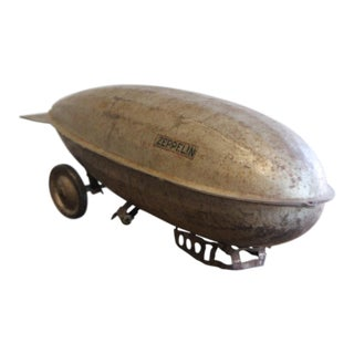 1930s Vintage Toy Zeppelin For Sale