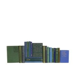 Pocket-Sized Blue & Green Selections - Twenty Decorative Books
