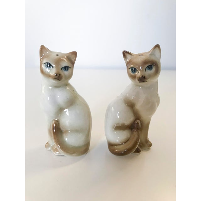 b3573e8913a20 1960s Cats Salt and Pepper Shaker - a Pair
