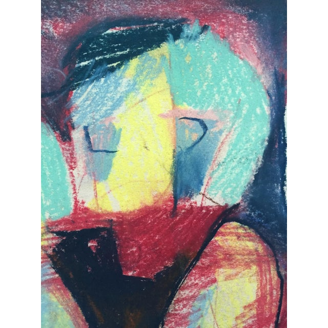 Pastel Abstract Figures in a Line Drawing - Image 7 of 7