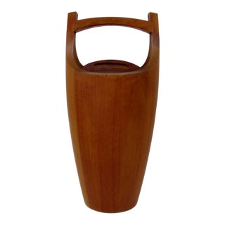 Dansk Teakwood Ice Bucket For Sale