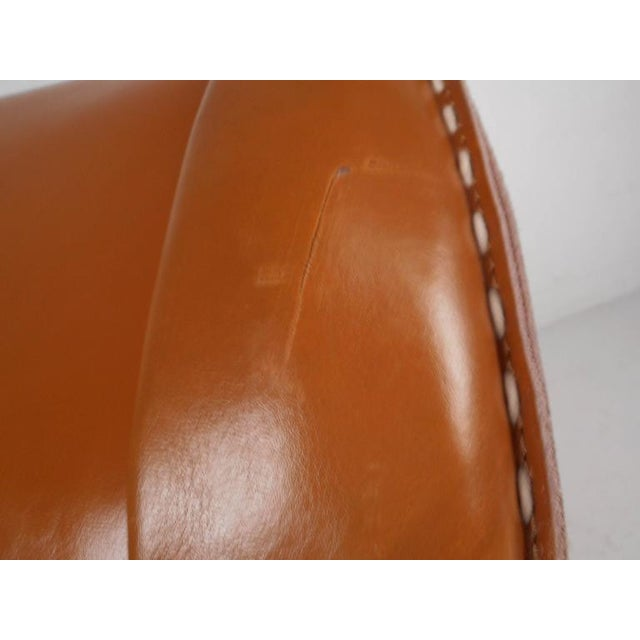 Contemporary Modern Leather Rocking Chair - Image 7 of 8