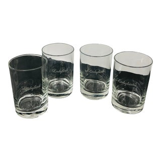 "Set of Vintage Etched ""Ladybird"" Tumblers For Sale"