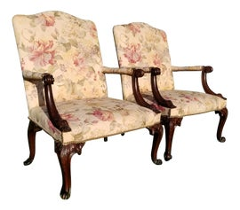 Image of Thomas Chippendale Accent Chairs