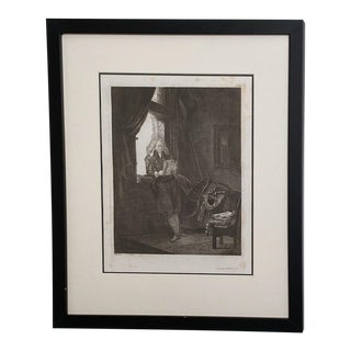 Late 18th Century Rembrandt Etching #25, by Francesco Novelli For Sale