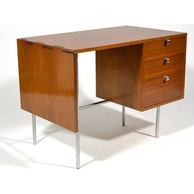 This modestly scaled desk is perfect for reading, writing, or working on a laptop or tablet. The drop leaf extension...