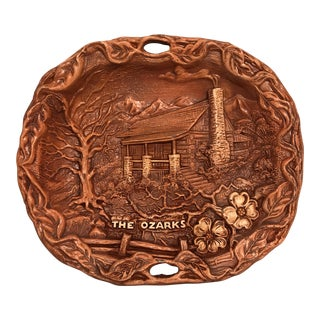The Ozarks Decorative Ceramic Wall Plate