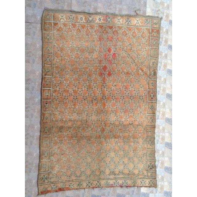 Beni Mguild Vintage Moroccan Rug - 6′3″ × 9′5″ For Sale - Image 9 of 9