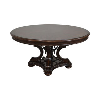 """Tuscan Style 60"""" Round Dining Table For Sale"""