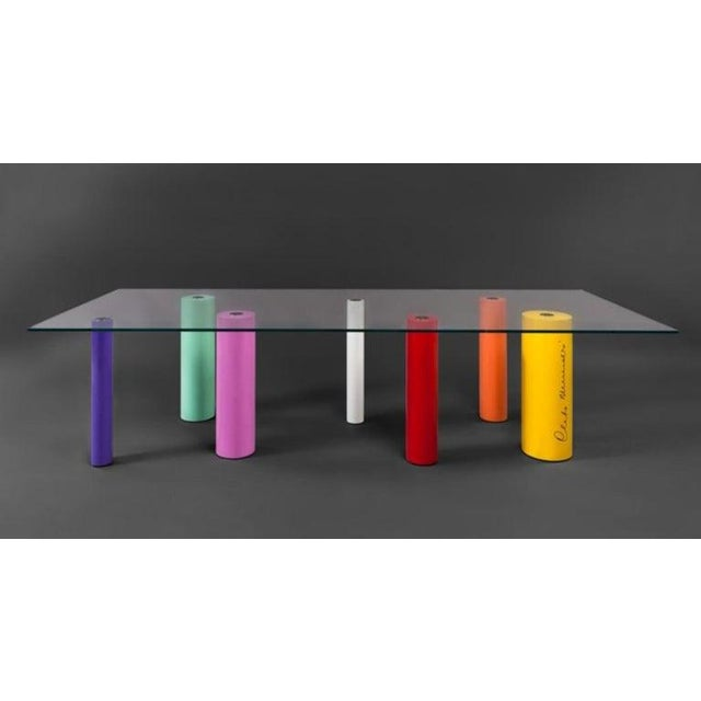 'Palafitte' Table by Cleto Munari, 2008, Limited Edition 99 Example