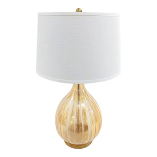 Gabby Home Sherbet Colored Glass Lamp For Sale