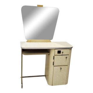 1950s Vintage Beauty Salon Vanity Station For Sale