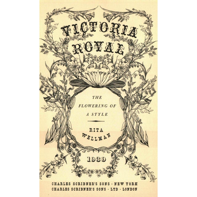 Victoria Royal by Rita Wellman. New York: Charles Scribner's Sons, 1939. 334 pages. Hardcover in dust jacket.