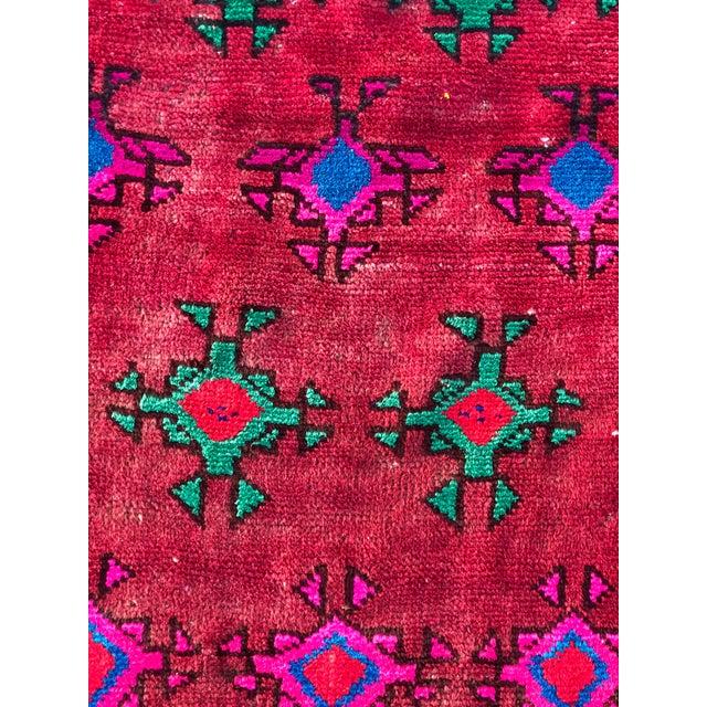 Boho Chic Vintage Turkish Anatolian Rug - 3′ × 6′8″ For Sale - Image 3 of 11