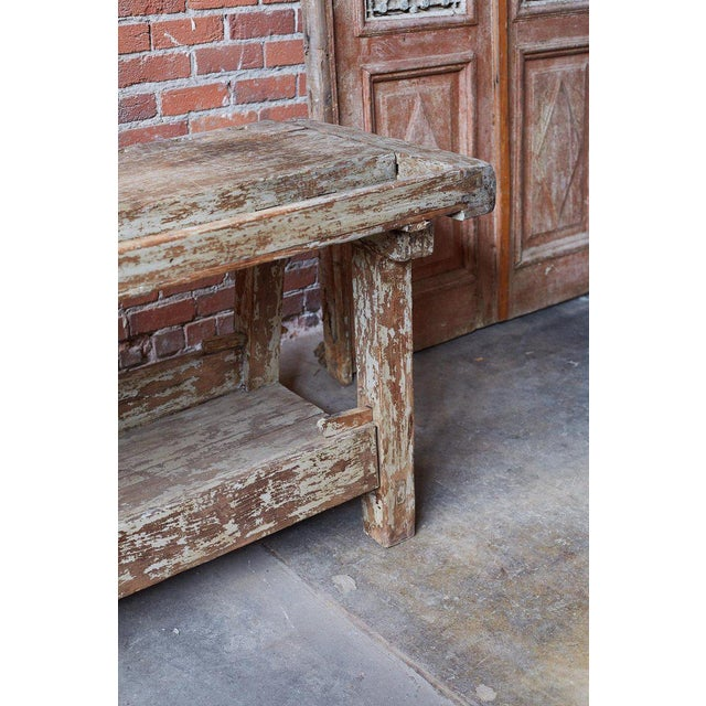 19th Century French Etabli Carpenter's Work Bench For Sale - Image 10 of 13
