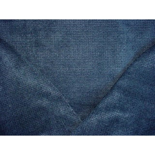 Brunschwig Et Fils Matrix Baltic Chenille Upholstery Fabric - 2 1/4 Yards For Sale