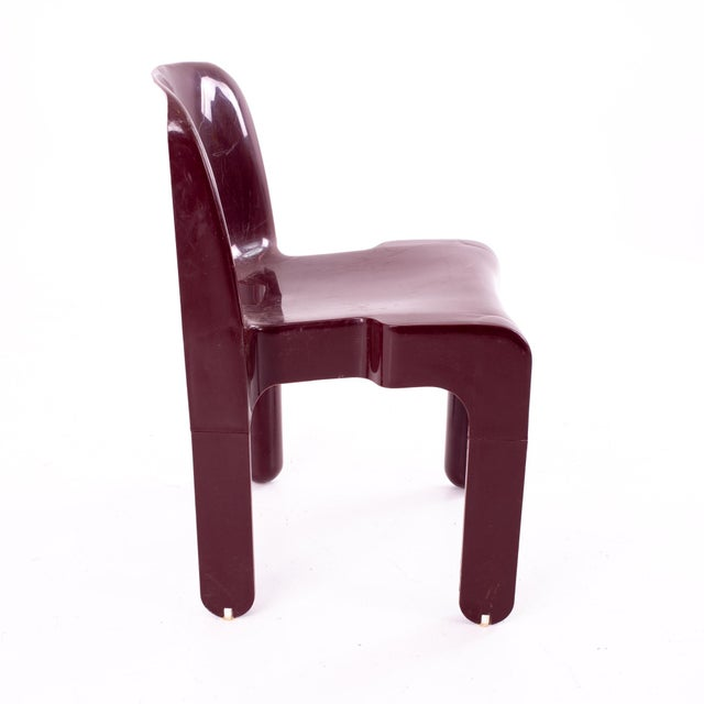 Mid 20th Century Joe Colombo Kartell Mid Century Plastic Chairs - Pair For Sale - Image 5 of 10
