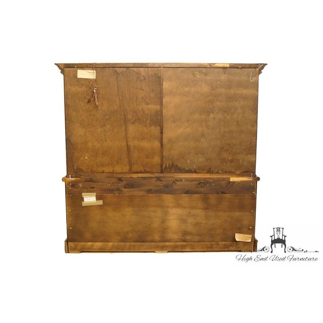 "20th Century Traditional Pennsylvania House Solid Pine 87"" Storage Cabinet For Sale - Image 11 of 13"